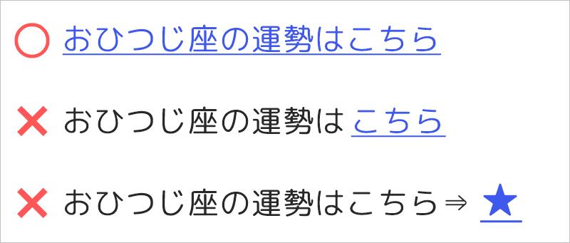アメブロのリンクのテキストにはキーワードを入れる